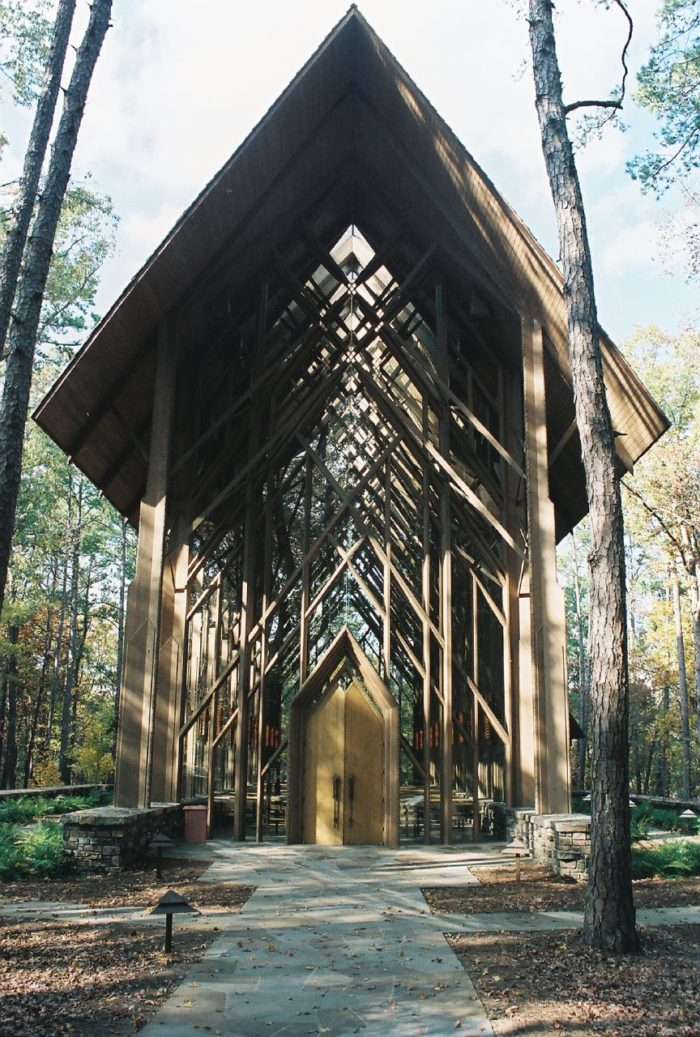 Anthony Chapel is located in Hot Springs.