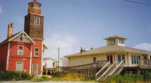 This Mysterious Abandoned Lighthouse In Delaware Will Haunt Your Dreams