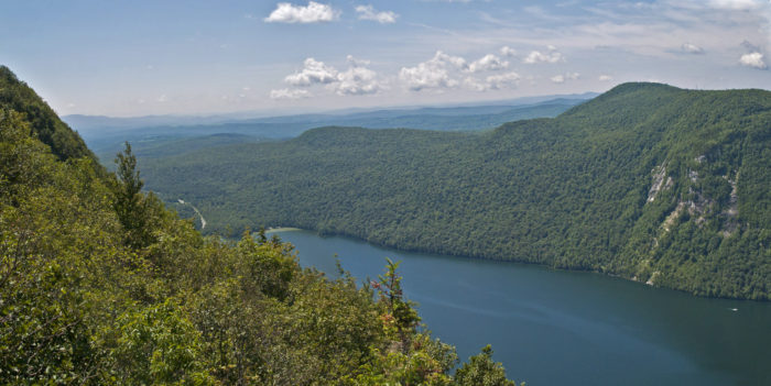 A panoramic view from the North Overlook.