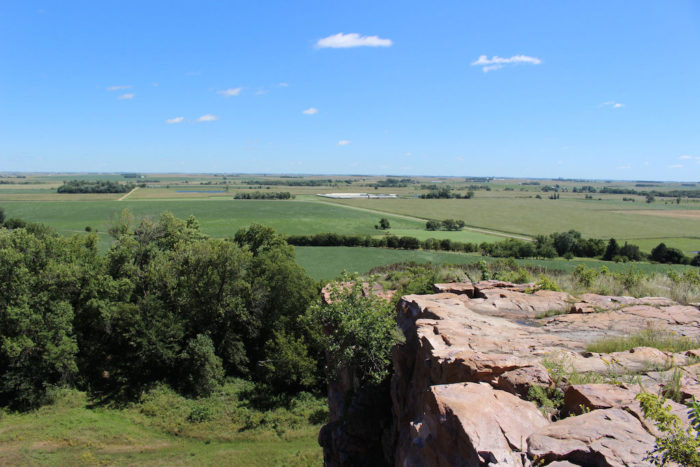 1. The prairie in Blue Mounds State Park.
