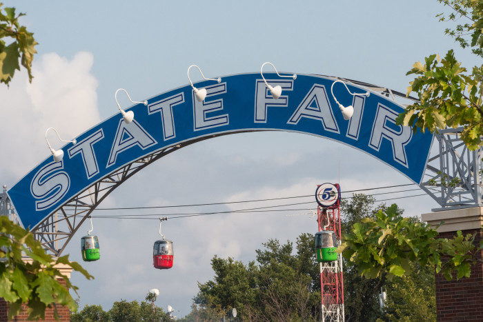 12. Pretending not to know about the state fair... or saying it's not a big deal.