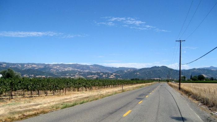 4. Highway 128 to Healdsburg