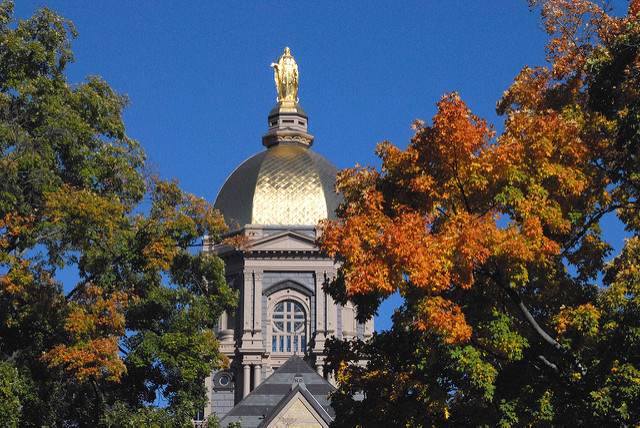 7. The University of Notre Dame - Notre Dame/South Bend