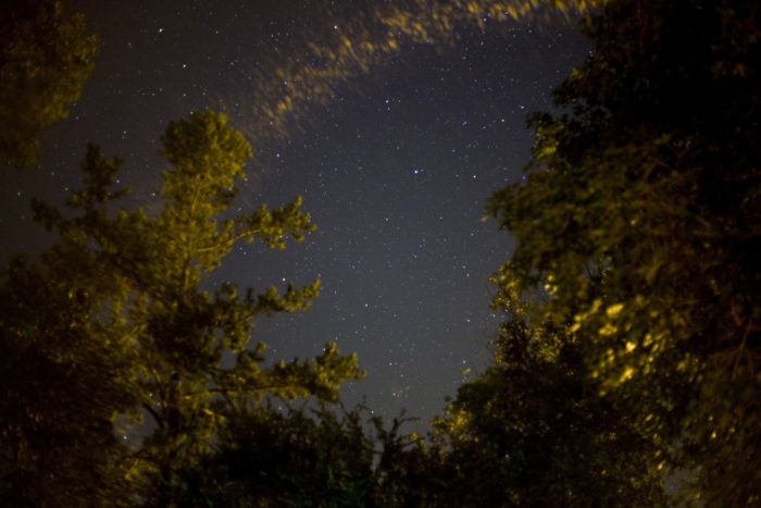 And nothing beats a starry sky in the Ozarks.