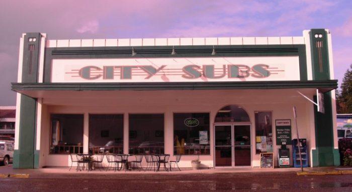 3. City Subs, Coos Bay