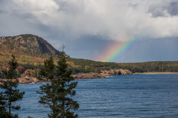 While there are tons of hikes in Acadia, this one is at the top of our list for the many types of scenery along the way.