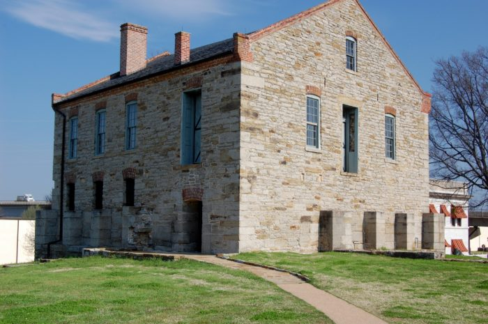 Throughout the historic site you'll be able to see a courtroom, two jails and several other historic buildings from this time period.