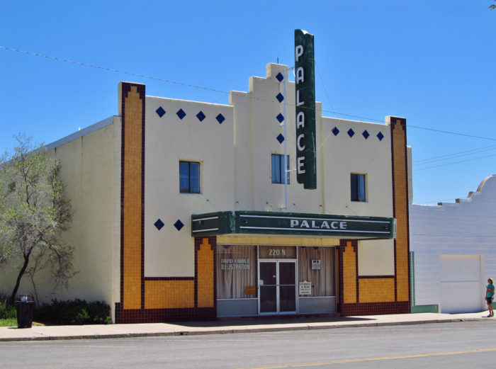 ...like this Palace Theatre that was once full of lively moviegoers but now only houses forgotten memories.