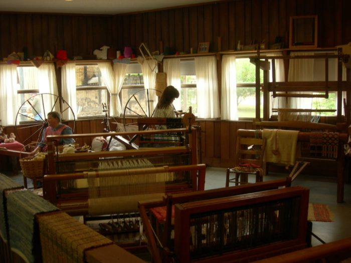And you'll want to drop in on the Ozark Folk Center while you're in town.