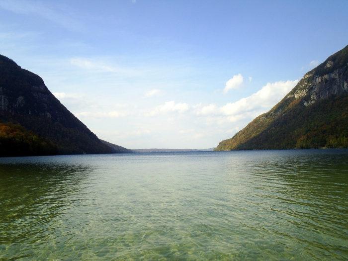 12.  Lake Willoughby, East Burke