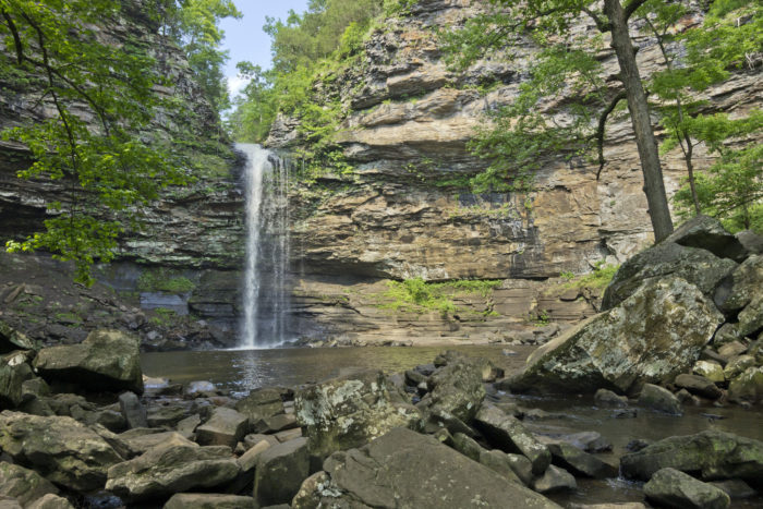 The ultimate payoff at the end of your hike is the stunning Cedar Falls.