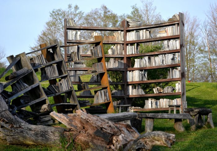 7. Enjoy the perfect mixture of art and fresh air at the Stone Quarry Hill Art Park in Cazenovia.