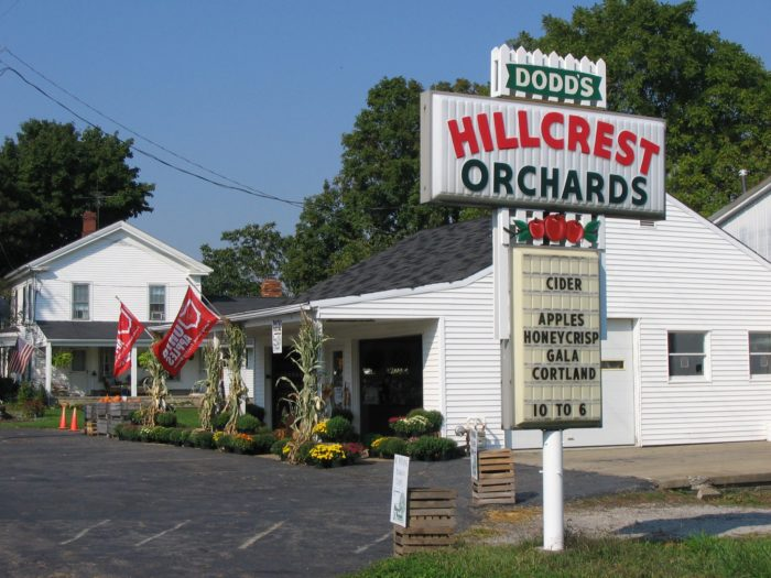 10. Dodd's Hillcrest Orchards (Amherst)