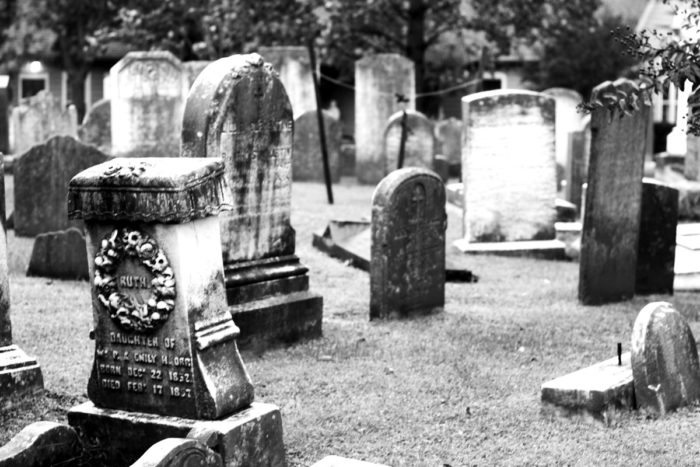 7. St. Peter's Episcopal Church Cemetery, Lewes
