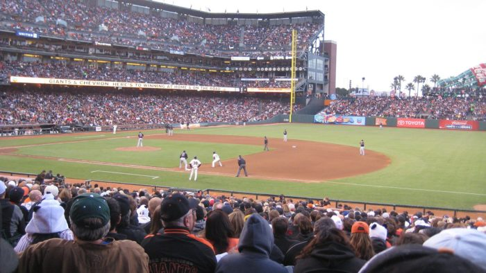 3. Go to AT&T Park and see the Giants.