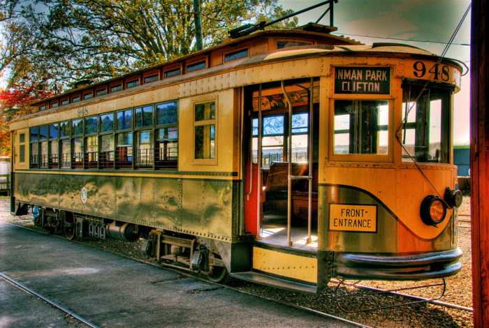 The Shore Line Trolley Museum is located in East Haven.