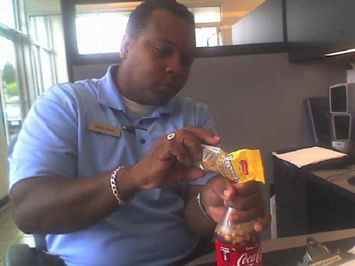 7. You've tried salted peanuts and Coca Cola mixed together. That's right. MIXED TOGETHER!
