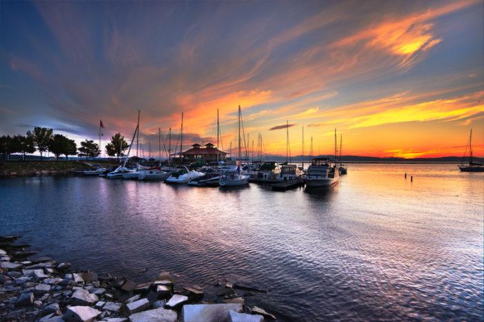 9.  Waterfront Park, Burlington