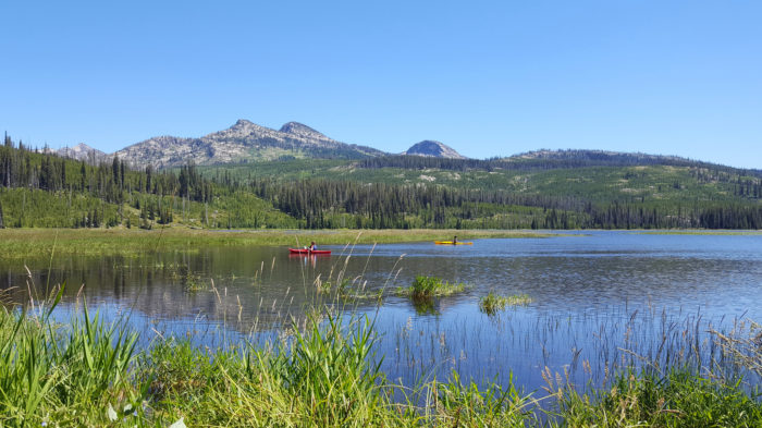 1. Upper Payette Lake Campground