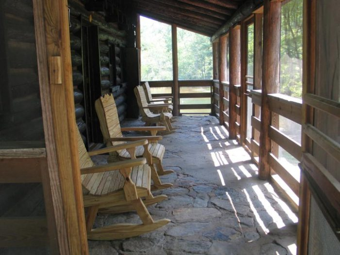 1. Oconee State Park - Mountain Rest, SC