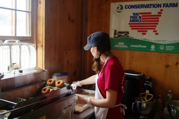 1. Cider Bellies Donuts, Moulton Farm, Meredith