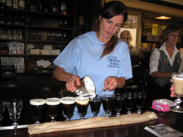 5. Sip Irish coffee at the Buena Vista
