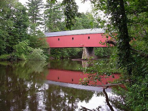 6. Cresson Covered Bridge, Swanzey