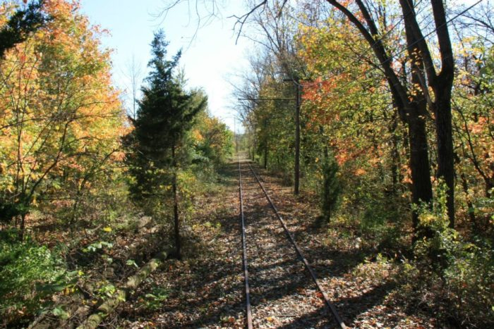 It's a beautiful way to take in the surrounding fall foliage, while learning more about Ohio's locomotive history.