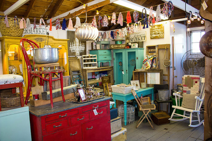 Janie Scheben, the founder, has been a vendor at handmade and vintage markets for over 20 years.