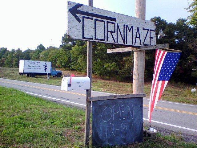3. Gearhard Farms Corn Maze – Murrysville