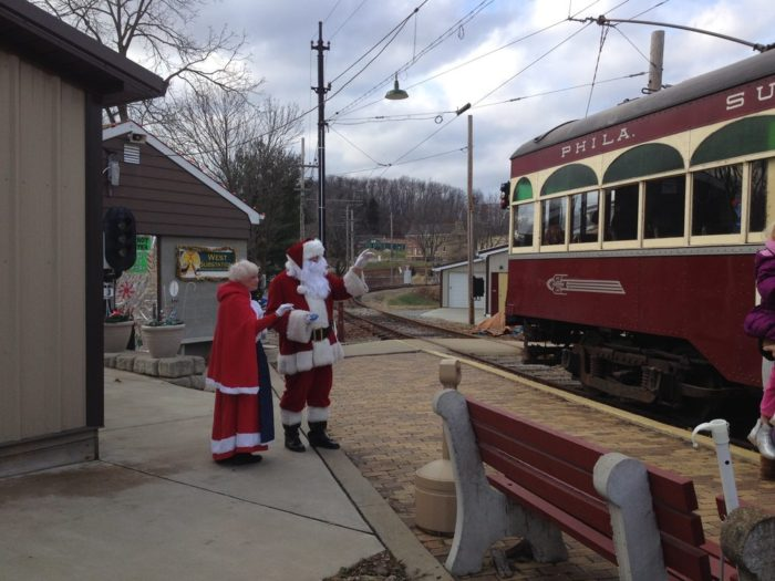 Visit Mr. and Mrs. Claus aboard the festive Santa Trolley November 25 to 27 and December 3 and 4, 10 and 11, and 17 and 18.