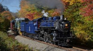 Take This Fall Foliage Train Ride Through Pennsylvania For A One-Of-A-Kind Experience