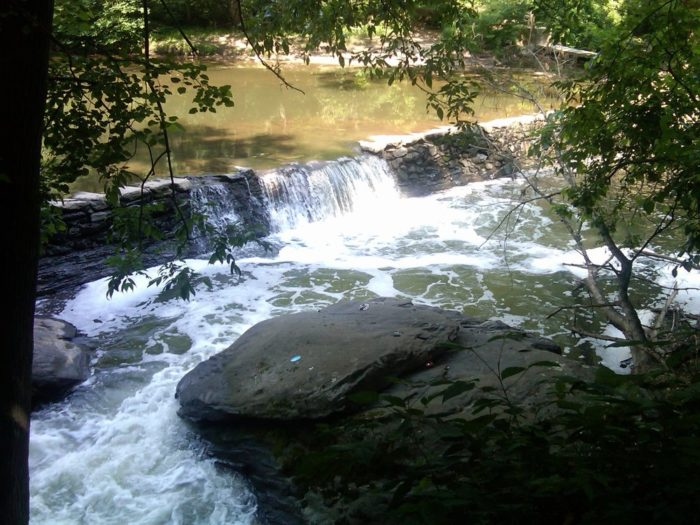 ...and natural wonders like this rushing waterfall await along the trail.