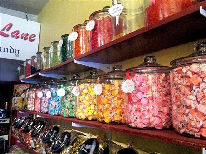 Of course, they've got salt water taffy.
