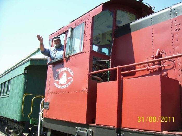 After sitting vacant for nearly 40 years, the beautiful train was donated by the City of Abilene to the Abilene & Smoky Valley Railroad. Four years, countless volunteers, and two grants later, this unique excursion train was once again ready to roll!