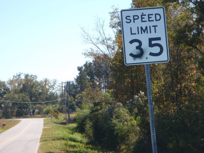 7. Tailgate to try to make us go faster than the speed limit.