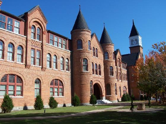 5. Seminary Hall at Northeastern State University, Tahlequah