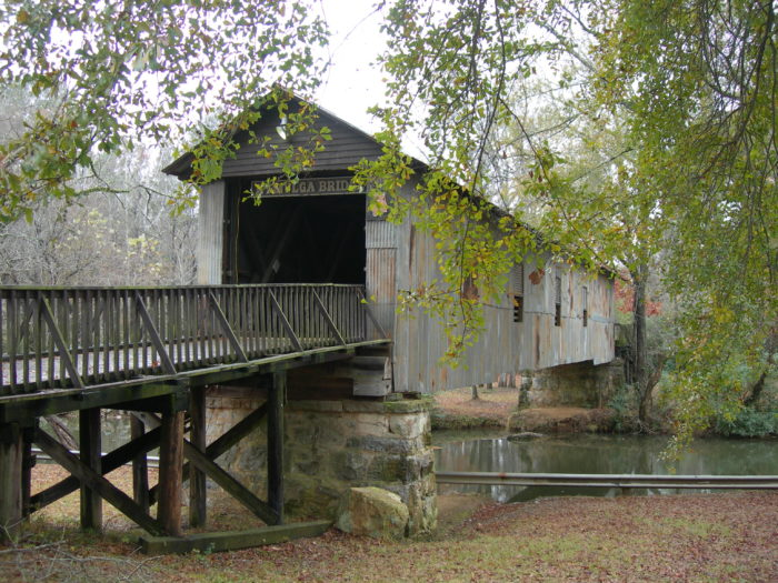 8. Kymulga Covered Bridge - Childersburg