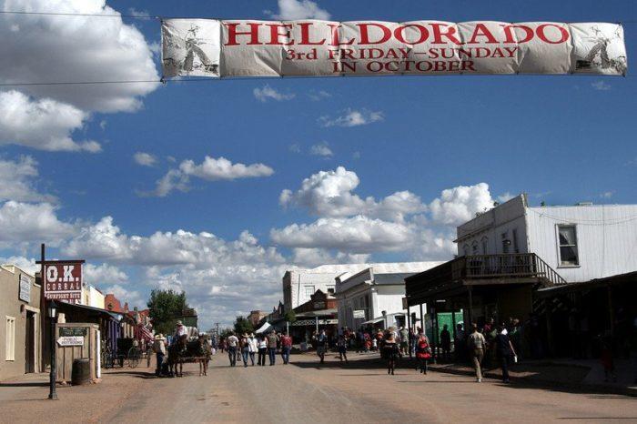 7. Helldorado Days, Tombstone