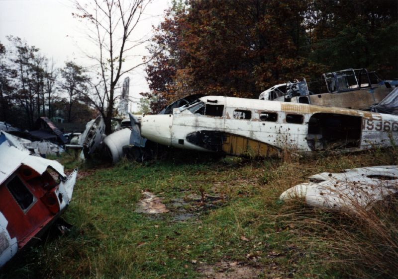 Newbury Military Airplane Boneyard In Northeast Ohio