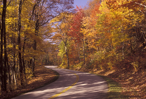 2. Blue Ridge Parkway (near Afton)