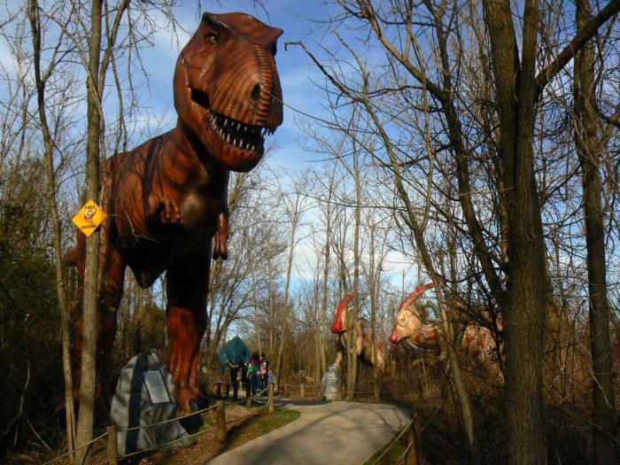 5. Dinosaur World, Plant City