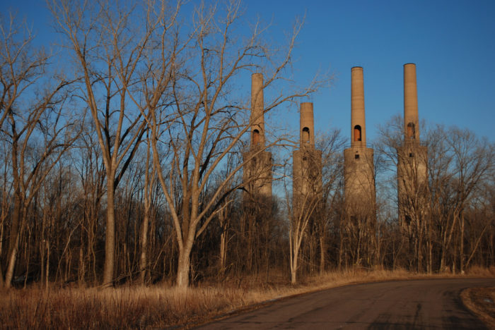 Most people don't realize that in the farmland on the outskirts of Rosemount, the ruins of a World War II-era factory still stand.