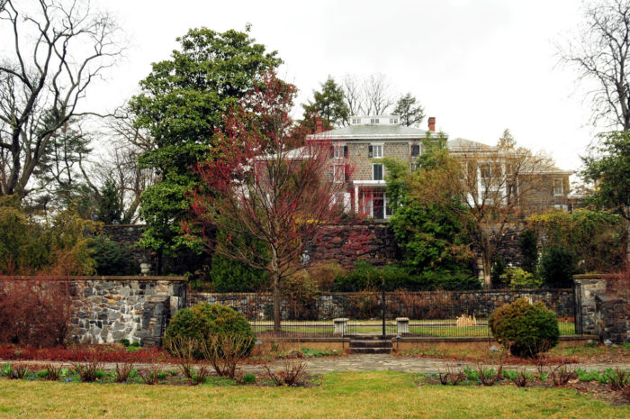 If you follow Route 52 down slightly past the 100 intersection, you'll stumble upon this hidden Wilmington Estate.