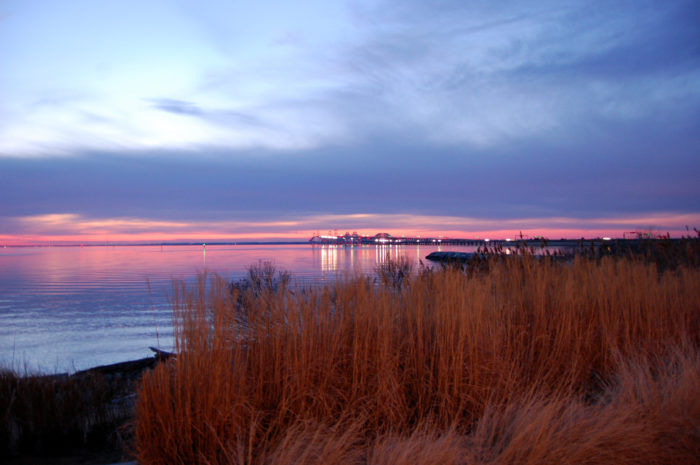 Oh, and did I mention the views of the Chesapeake Bay Bridge? The sights are particularly stunning during sunset.