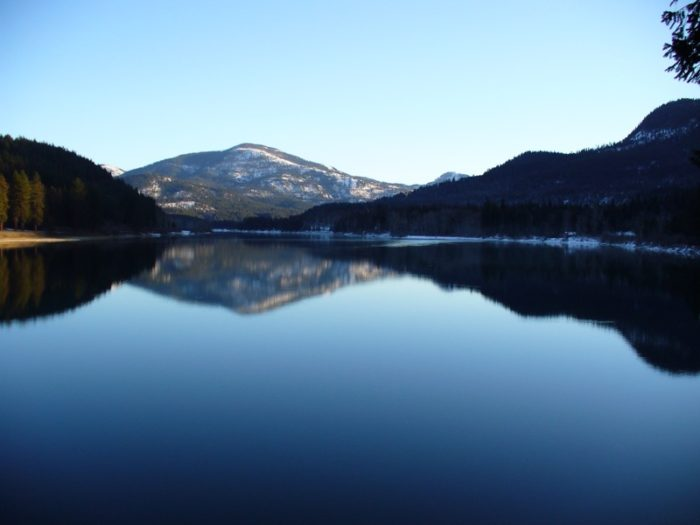 But hidden beneath the surface of this stunning lake is something incredible that few people know about.