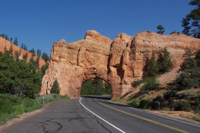 Scenic Byway 12 is 124 miles of twists and turns from Bryce Canyon National Park to Capitol Reef National Park.