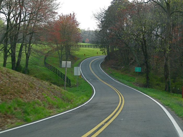 4. Drive painstakingly slow, or way too fast down our scenic routes