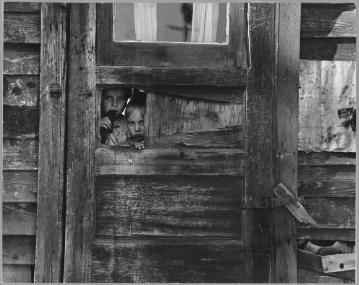 3. The poverty of the great depression in Kern County, right on the edge of Southern California.