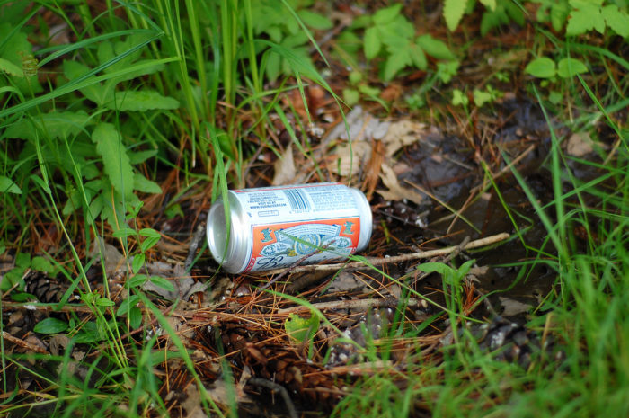 3. Litter and the people who do it.